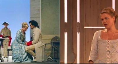 opera voorstelling Cosi fan Tutte van Mozart